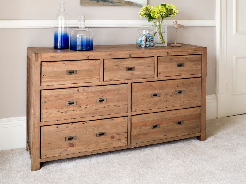 Ordinaire Drawers Design Rustic Oak Drawer Wide Chest Of Lifestyle ...