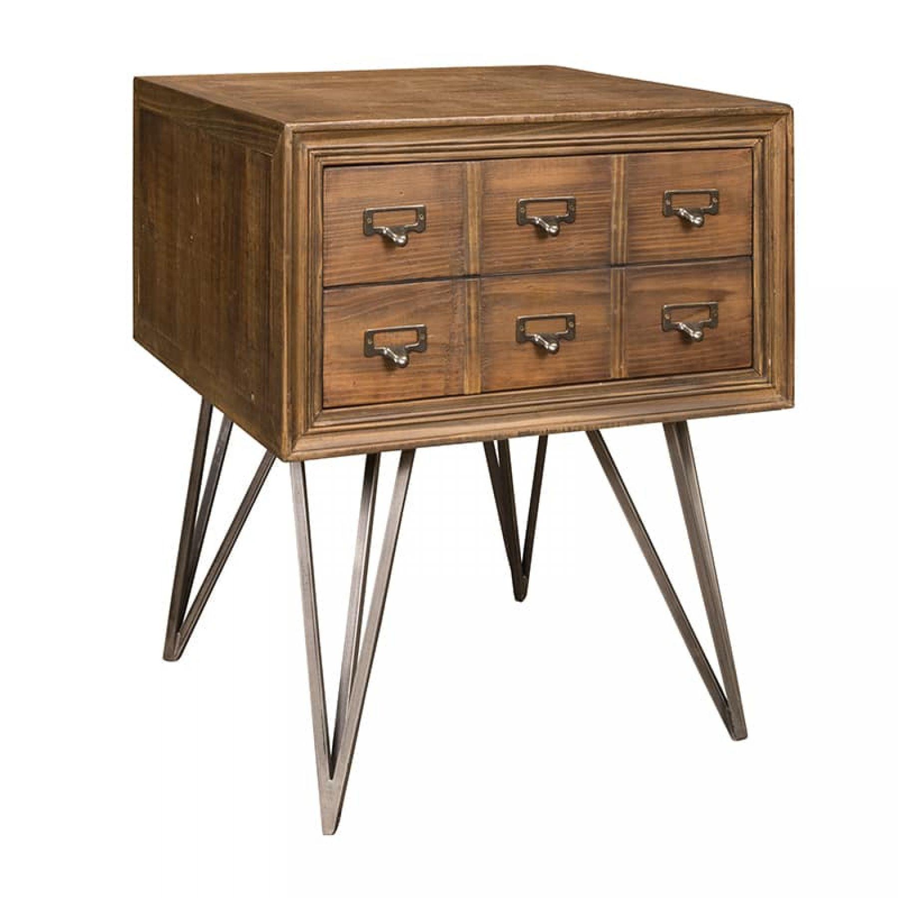 Magazzino corner table 1 drawer magazzino home occasional furniture corner table 1 drawer watchthetrailerfo
