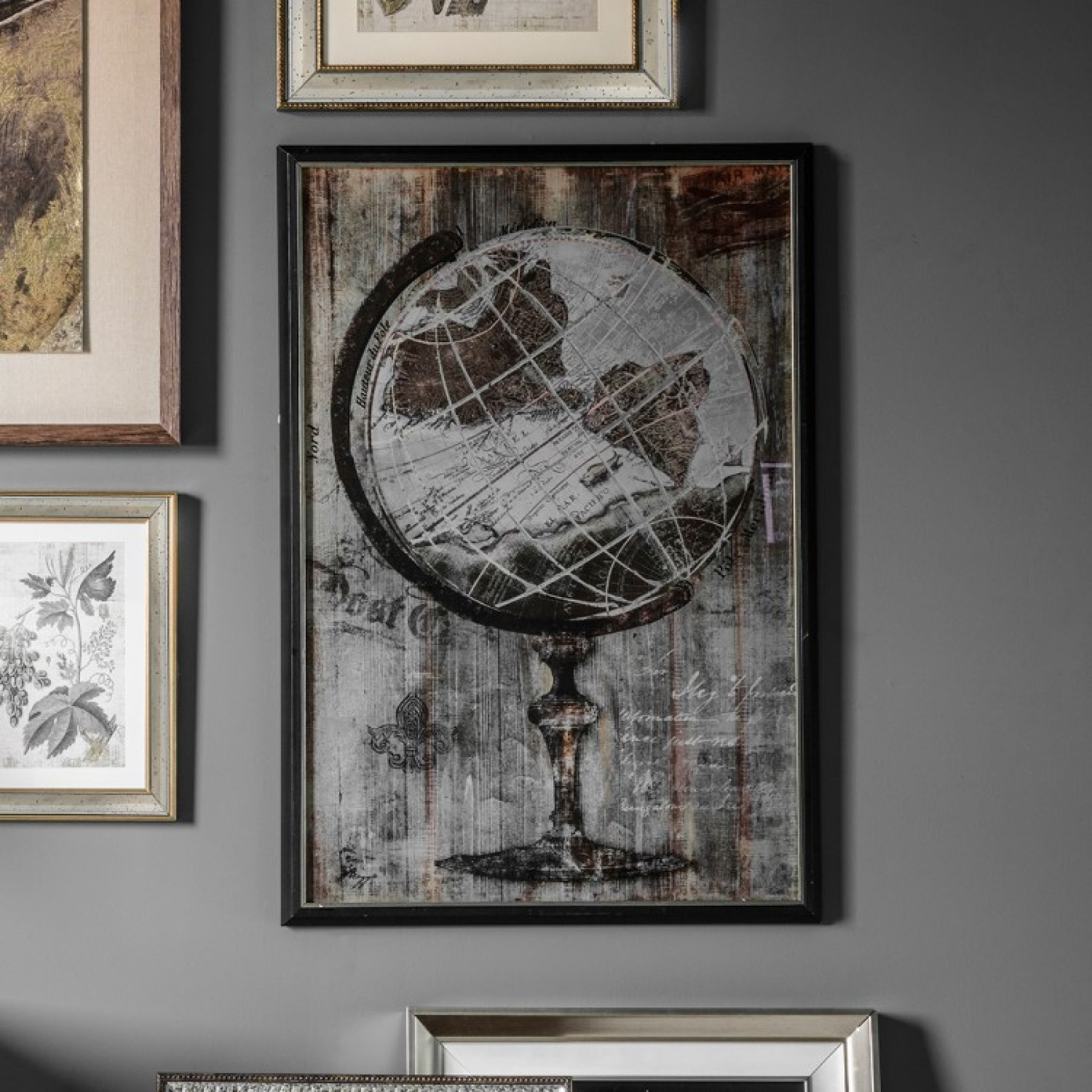 Home / Pictures u0026 Art / Large Antique Globe Wall Art & Magazzino Large Antique Globe Wall Art - Magazzino
