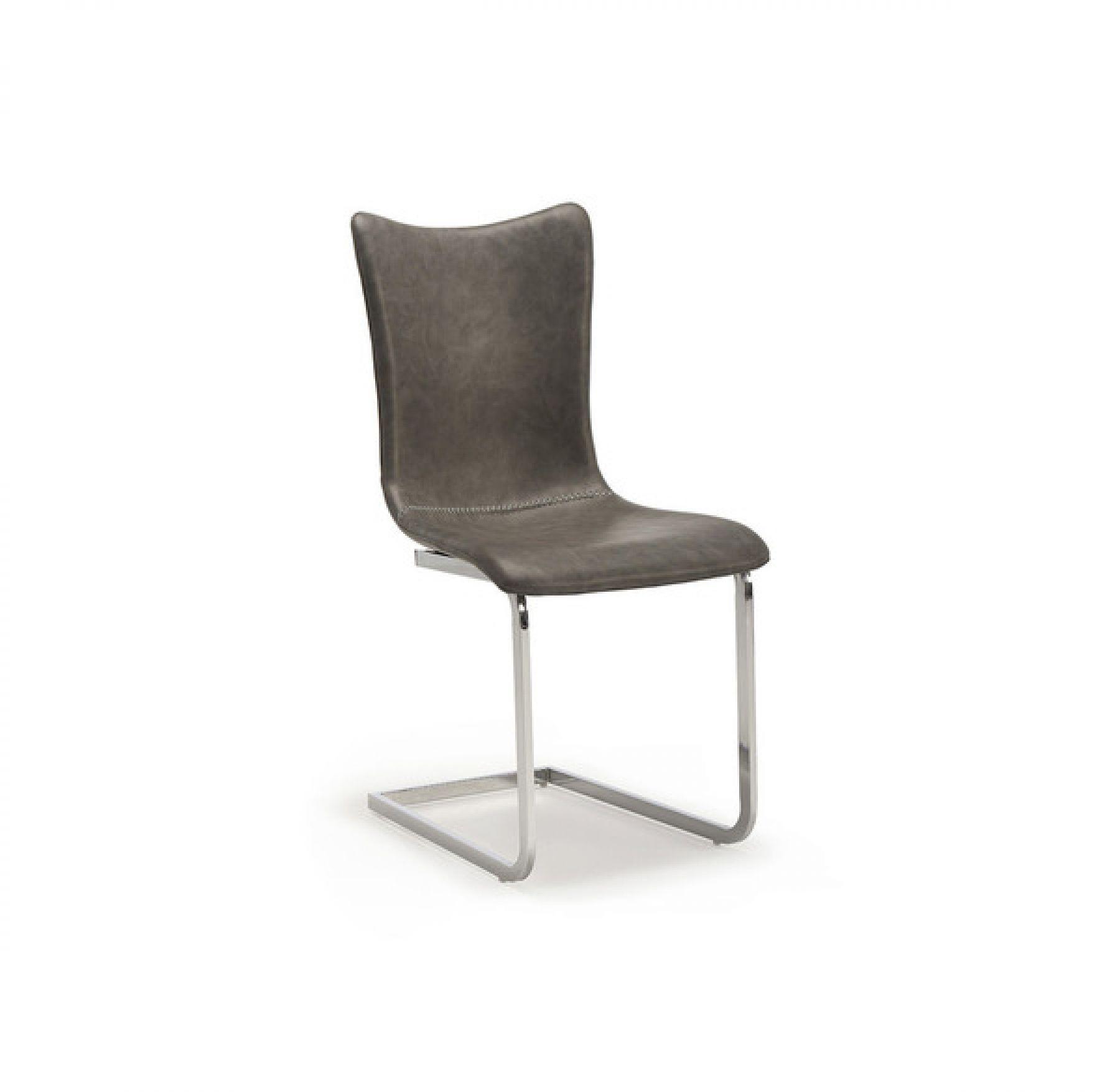 Strange Alisa Chair With Sleigh Chrome Legs Spiritservingveterans Wood Chair Design Ideas Spiritservingveteransorg