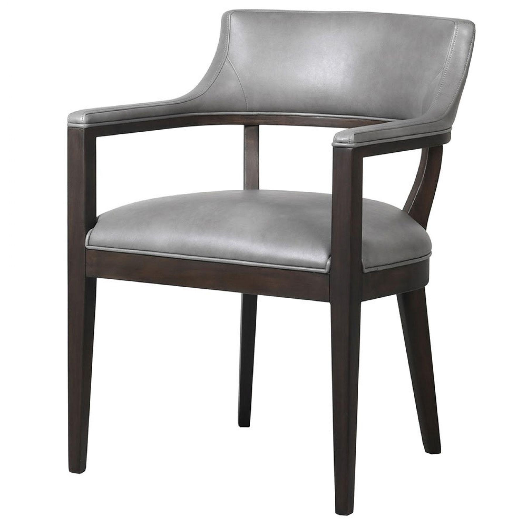 Magazzino Open Back Dining Chair In Grey Magazzino